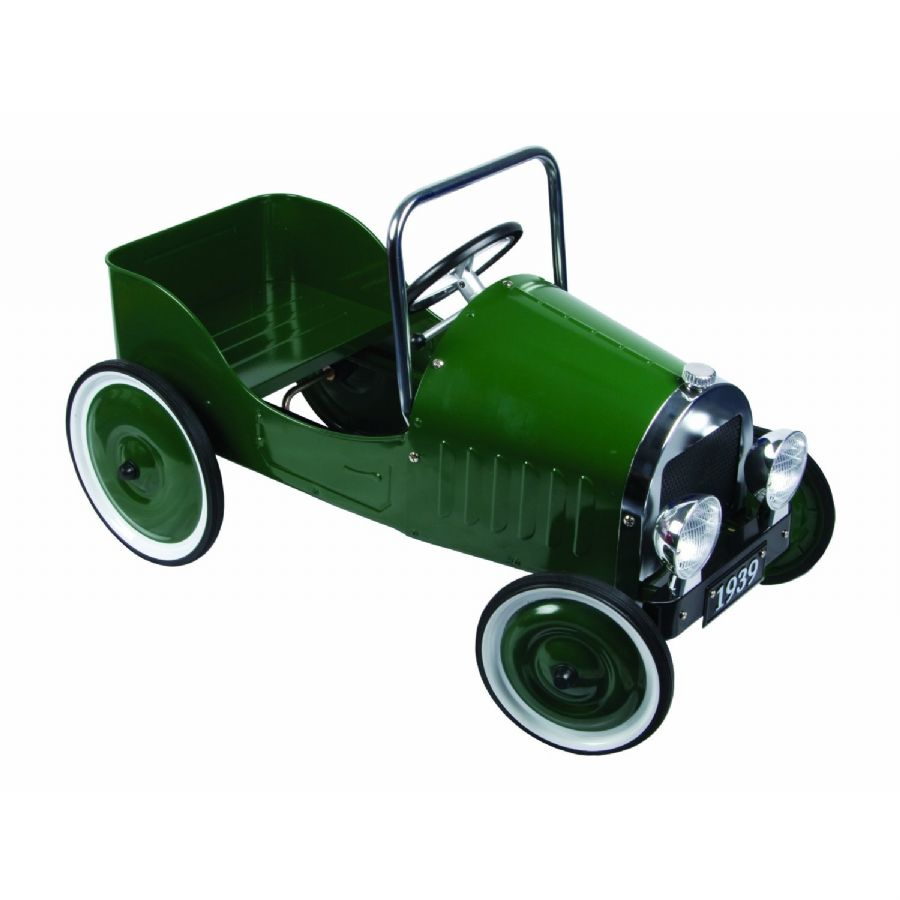 Children s Classic Green Pedal Car - Great Gizmos